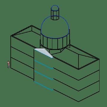 remaining lines defining octagon
