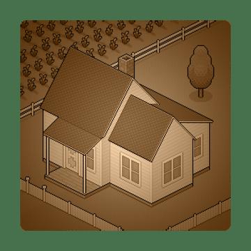 farmhouse scene completed
