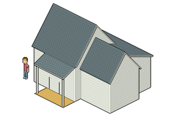 shading roof tile