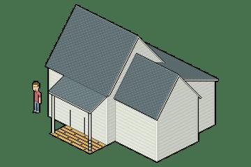 finishing porch floor wood board texture