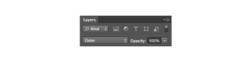 changing blending mode for the layer