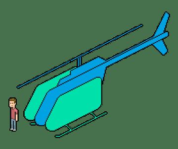 redrawing the landing gear