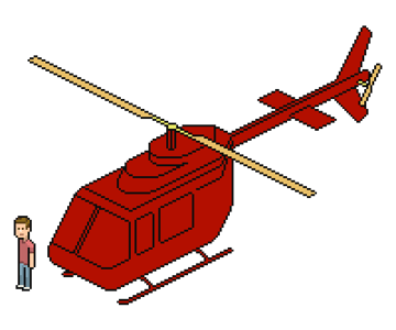 adding red to entire helicopter