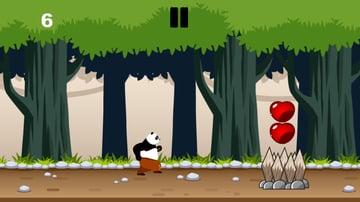 Panda forrest run screenshot