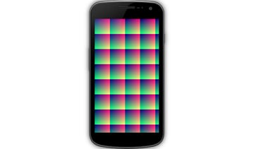 Modified pixels array rendered on canvas