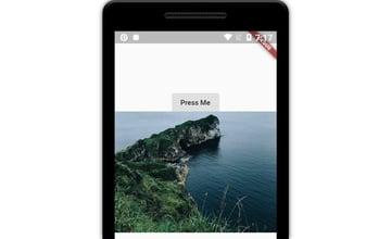 App displaying random photos