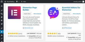 Search results for Elementor