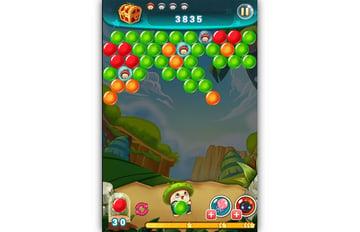 Bubble Adventure gameplay