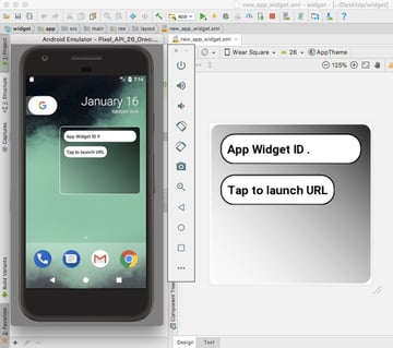 Put your Android application widget to the test
