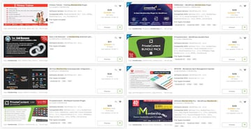 You can find a wide range of premium membership plugins over at CodeCanyon