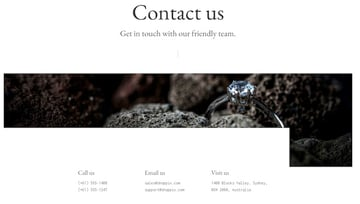 Want to quickly and easily add a Contact Us form to your page Shoppix has a Contact Us template that you can use with your ecommerce store
