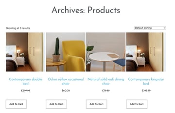 WooCommerce generates a Product Archive page automatically you can customize this page using Elementor
