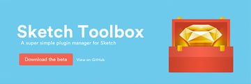 Sketch Toolbox a simple plugin manager for Sketch