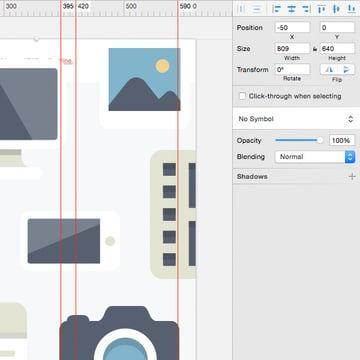 Masking and grouping objects