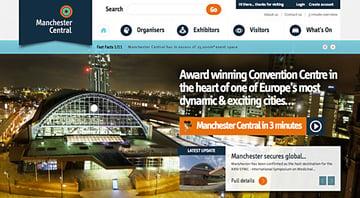 Manchester Central website