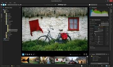 Aftershot Pro 2 interface