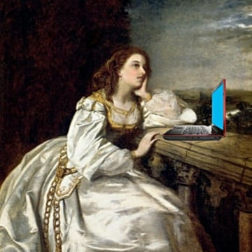 Romeo Romeo WTF Romeo after William Powell Frith by Mike Licht