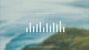 Simple infographics bar chart example image