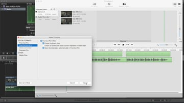 Syncronize audio and video with PluralEyes