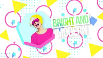 Bright Modern Broadcast Woman