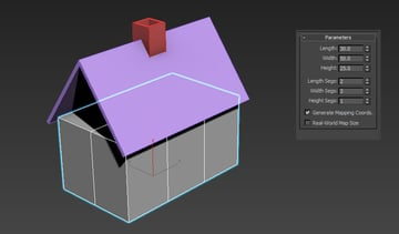 Adding more segments to the body of the house