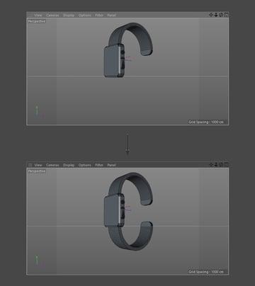 Duplicate watch strap
