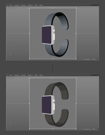Add material to the wrist strap