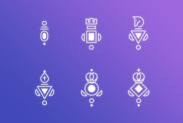 The final Chess Icons Set in Adobe Illustrator