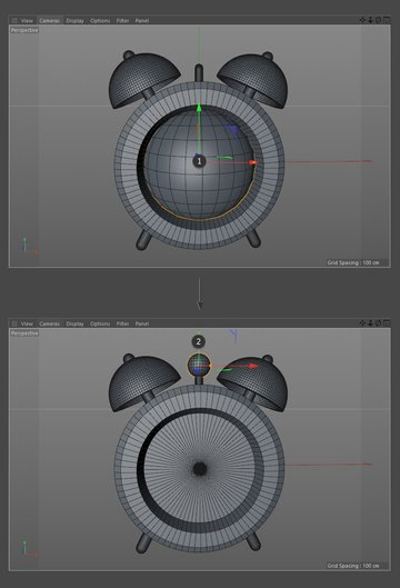 Add a sphere object