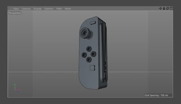 The Nintendo Joy-Con in 3D