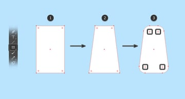 Create the vector shape for the body
