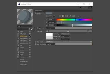 Make new light grey material