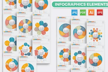 Circle Chart Infographic Design