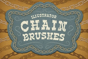 Illustrator Chain Brushes