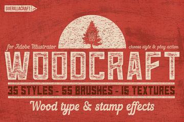 wood craft effect