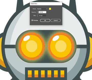Robot Logo - Widtemp
