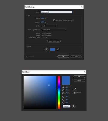 choose a background colour