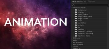 animation presets