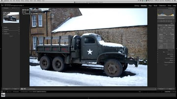 An old army truck