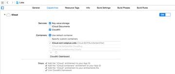 Open CloudKit Dashboard