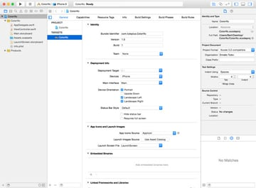 Exploring the Xcode User Interface