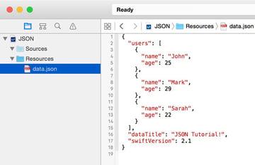Add JSON Data