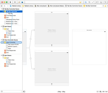 Creating Segues Between View Controllers