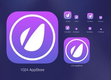App Icon Creator With Flat Shadow Generator