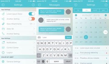 Mobile App Bootstrap UI