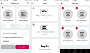 iOS 9 UI Shop
