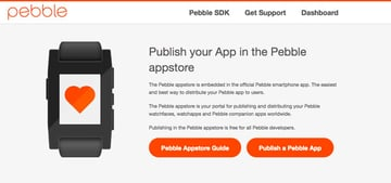 Publish a Pebble App