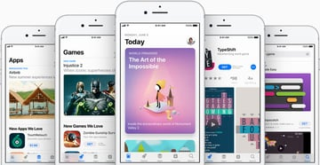 The App Store received a design overhaul