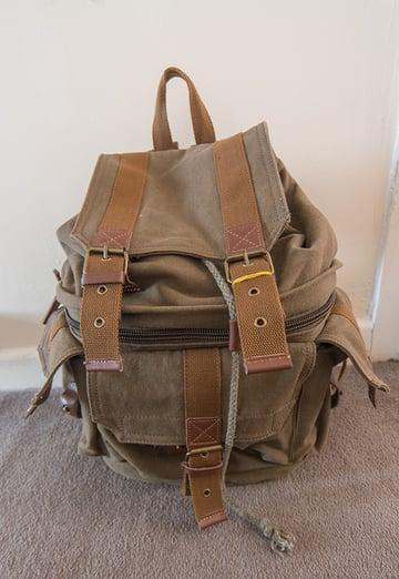 Specialist photographers rucksack