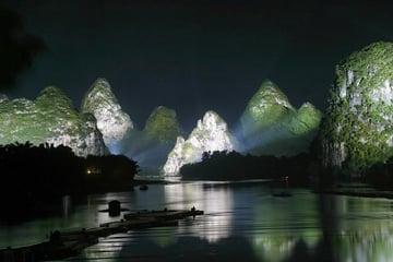 night mountains